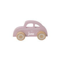 holz Auto rosa personalisiert