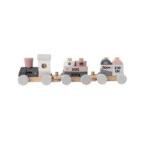 Label Label Eisenbahn pink