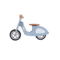 littledutch roller blau